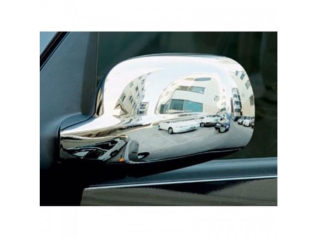 Тюнинг SsangYong Rexton 01-10 Накладки на зеркала, хром - AGS Tuning
