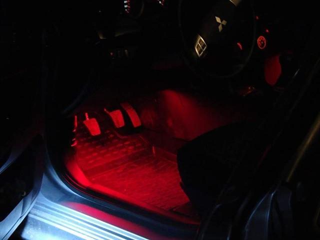 Подсветка ног лансер 10 своими руками 54